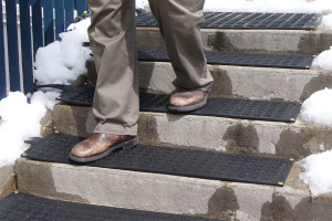 Heated Stair Mats